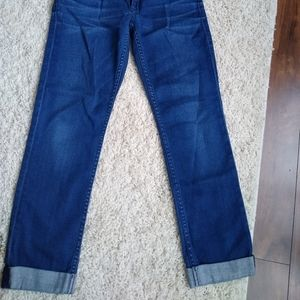 Hudson cropped ankle jeans